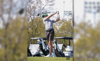 Men's golf transfer returns home for final season with hopes of conference title
