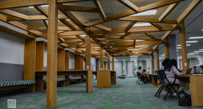 Willis Library completes its renovation for more open floor plan