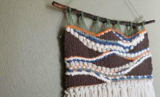 Denton High School artist creates and sells handmade wall hangings