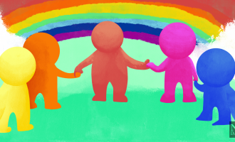 LGBTQ+ acceptance is still new, don't pretend that it's not