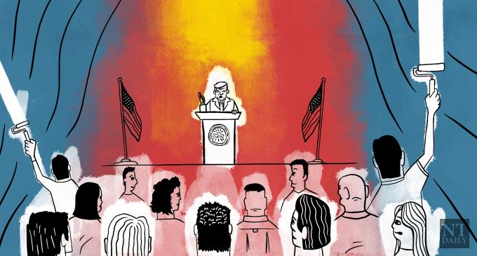 How Trump's presidency exemplifies American white privilege