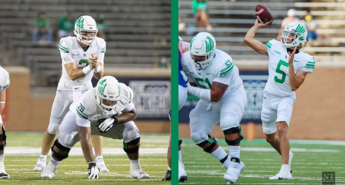 Competition still brewing: How two North Texas QB's have continued competing for the starting job