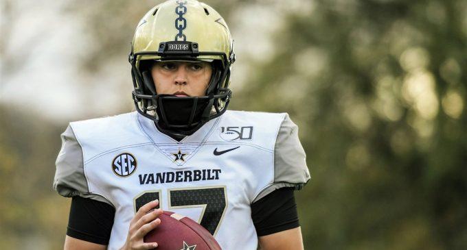 Future soccer transfer makes history for Vanderbilt football