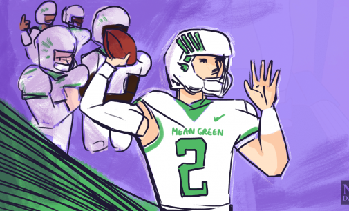 COLUMN: Austin Aune is the leader the Mean Green needs
