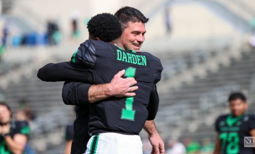 Building continuity: Senior wideout is paving road for future Mean Green receivers