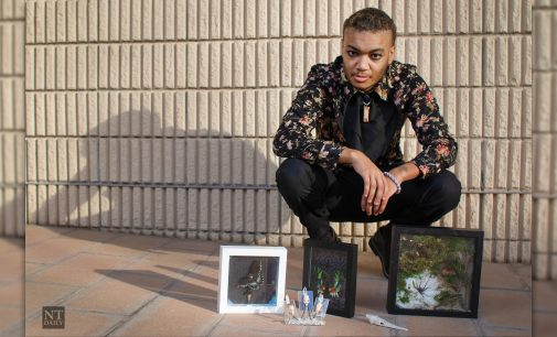 UNT sophomore explores nature through bug taxidermy and bone art