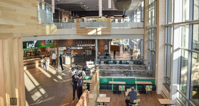 """The eagle has landed as new dining hall holds """"soft-open"""" for students"""