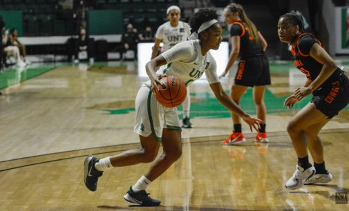 SPORTS: North Texas sweeps UAB in game two on Quincy Noble's strong 3-point shooting