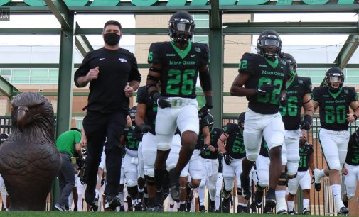 North Texas football loses numerous players to transfer portal, introduces new coaching hires, two starting seniors announce their return