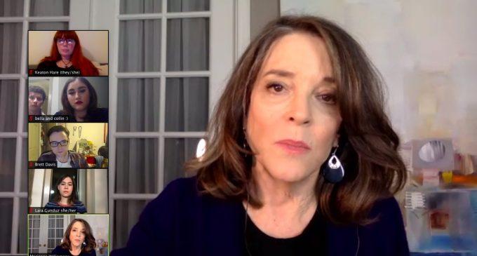 UNT College Democrats host Q&A with Marianne Williamson