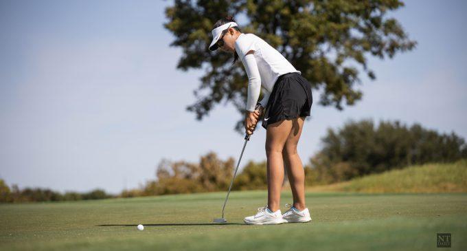 RECAP: Women's golf faces Houston in tune-up for spring slate
