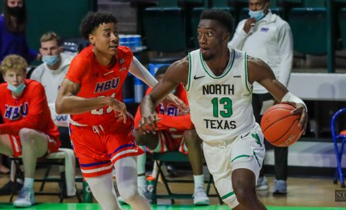 RECAP: Men's basketball downed by UTSA's hot-shooting second half