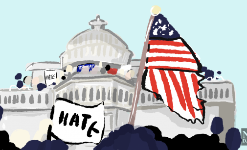 The storming of the Capitol further uncovers America's racism
