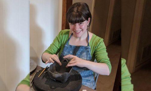 Denton artist addresses feminine issues through ceramics