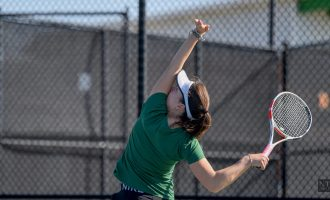 Recap: Tennis team records second win of the season against Texas State