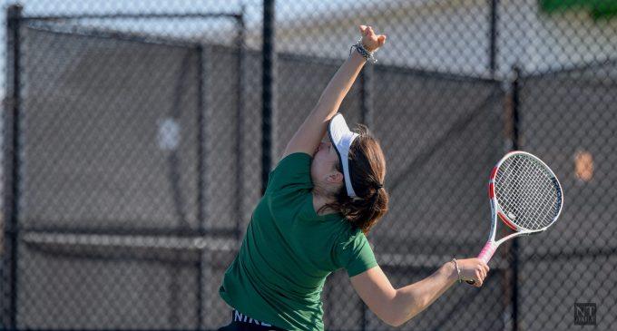 Recap: Tennis overpowers Missouri State, snaps six game losing streak
