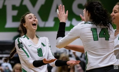 Recap: Volleyball surpasses milestones in win over in-state rival UTEP