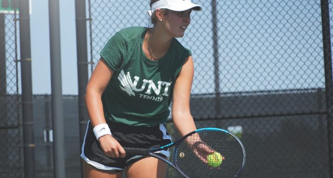 Junior tennis transfer finds her stride on power dynamics and aggressive doubles' play