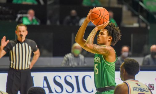Recap: Men's basketball rides hot second half to win over Southern Mississippi