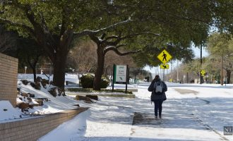 Winter storm leaves lasting impact on campus