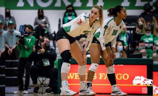 Recap: Volleyball sustains third loss of the season to Blazers, Skopal joins the 1,000 club
