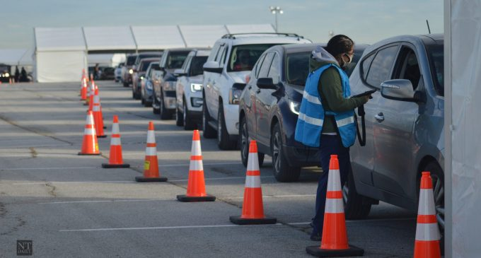 Denton County contributes to mass COVID-19 immunization at Texas Motor Speedway