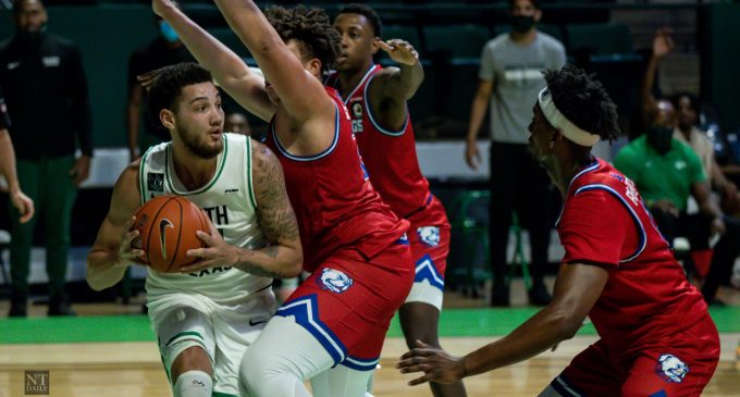 Recap: Men's basketball drops first home loss against Bulldogs despite Zachary Simmons passing new milestone