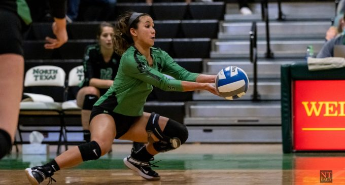 Recap: Volleyball fall short in attempt to sweep UTEP, splits season series