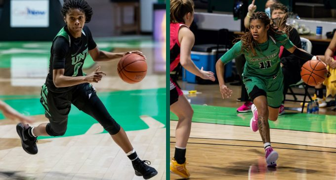 Duo of sophomore guards lead women' basketball during historic season