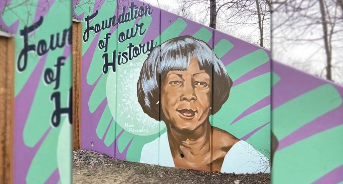 Denton artist repaints the historic legacy of five prominent Black women