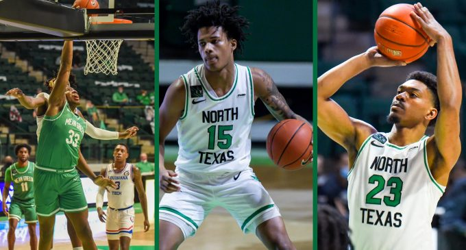 New Blood: Freshmen trio plays early role for men's basketball