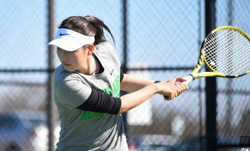 Recap: Tennis team falls to Texas-Arlington in narrow contest