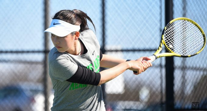Holding serve: How an international tennis freshman has adapted on and off the court