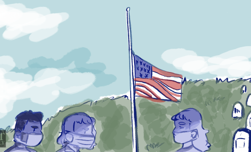 Lowering flags half-mast in danger of becoming political prop