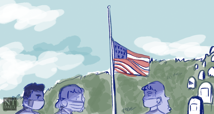 Lowering flags half-mast in danger of becoming political prop