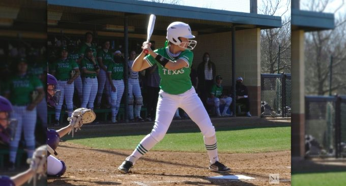 Recap: North Texas softball takes division lead, prepares for Tarleton State after sweep of Texas-El Paso