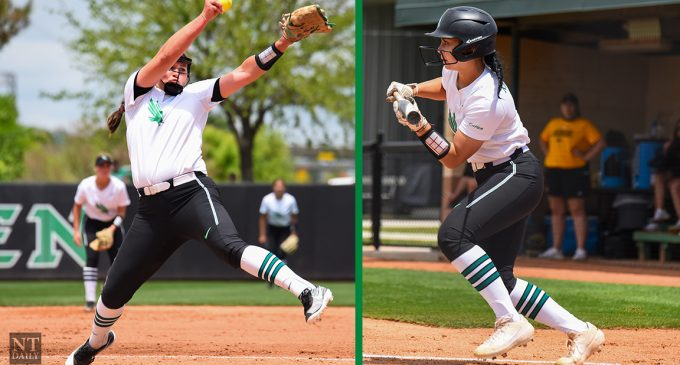 ICYMI: Two softball players named to NFCA All-Region Team