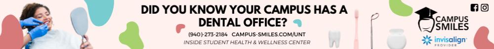 Campus Smiles Aug. 1-31 2021
