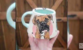 Corie's Ceramics gives pets a second life through mugs