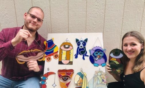 Denton couple partners to sell quirky creations