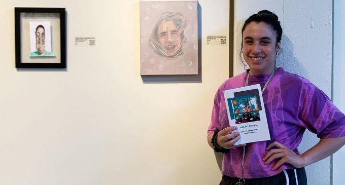 Studio art senior uses passion to convey realism, mental health support