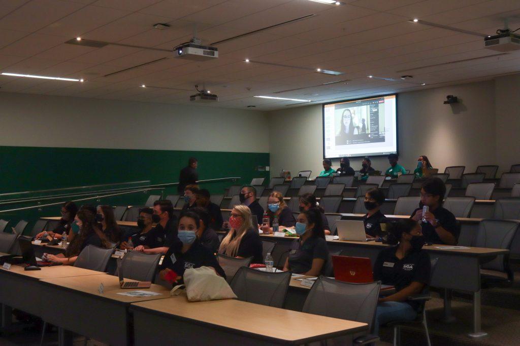 University admin discusses mandatory testing, COVID-19 classroom policies with SGA