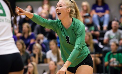 Recap: Volleyball dominates in 3-0 win against Jackson State