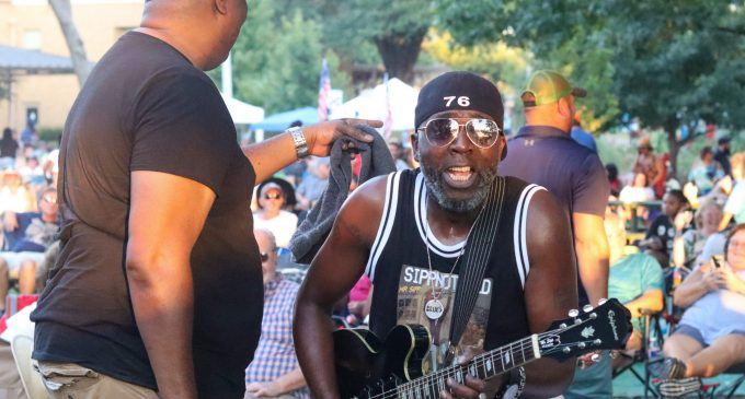 Denton Blues Fest brings community together with music-filled weekend