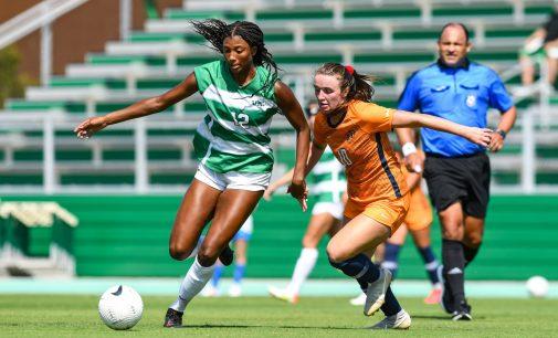 Soccer Team Finds Stride as Byrd Soars