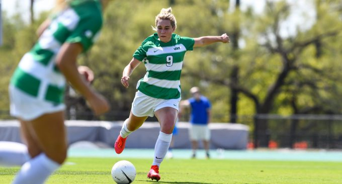Recap: Soccer secures first division win