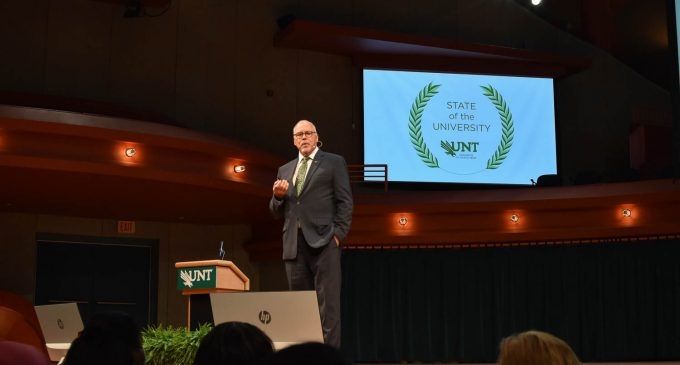 State of the University address highlights new career development program and record enrollment numbers