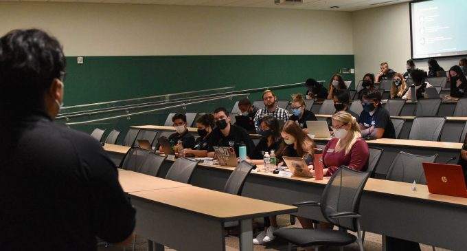 SGA discuss mandatory testing, planned recreation center expansion with university administration