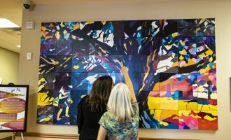 Collaborative art project 'Roots and Branches' aims to promote healing through creativity