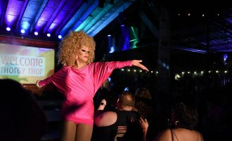 Thorgy Thor comes to Denton for fourth annual drag show fundraiser